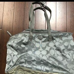 Coach overnight bag